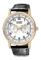 Citizen Eco-Drive Mens Straps Stainless Steel Rose Gold-Tone Watch