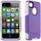 Otterbox Purple And White Commuter Case For iPhone 4/4S