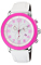 Citizen Eco-Drive BRT White & Pink Stainless Steel Mens Watch