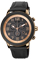 Citizen Eco-Drive BRT Black & Rose Gold Stainless Steel Mens Watch