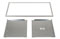 "Best Stainless Steel 54"" Drywall Trim Kit"