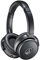 Audio-Technica Black QuietPoint Active Noise-Cancelling On-Ear Headphones