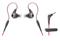 Audio Technica Red SonicSport In-Ear Headphones