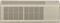 GE Zoneline 7,200 BTU 13.4 EER 230V Wall Air Conditioner