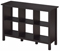 Bush Furniture Broadview Espresso Oak 6 Cube Bookcase