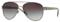 Burberry Gunmetal Pilot Womens Sunglasses