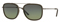 Burberry Brushed Gunmetal Square Mens Sunglasses