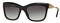 Burberry Black Square Womens Sunglasses