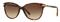 Burberry Dark Havana Cat Eye Womens Sunglasses