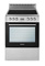 "Blomberg 24"" Stainless Steel Free Standing Electric Range"
