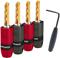 AudioQuest 4 Pack SureGrip300 Gold BFA/Banana Plugs