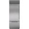 "Sub-Zero 30"" Stainless Steel Built-in Bottom-Freezer Refrigerator"