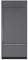 "Sub-Zero 36"" Built-In Panel Ready Bottom Freezer Refrigerator"