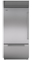 "Sub-Zero 36"" Stainless Steel Built-in Bottom-Freezer Refrigerator"