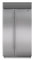 """Sub-Zero 42"""" Stainless Steel Built-In Side-By-Side Refrigerator"""