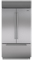 "Sub-Zero 42"" Built-In Stainless Steel French Door Refrigerator"