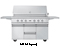 "Viking 54"" Ultra-Premium Gas Stainless Steel Grill Cart"