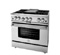 "BlueStar 36"" Platinum Series Stainless Steel Freestanding Gas Range"