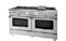 "BlueStar 60"" Platinum Series Stainless Steel Freestanding Gas Range"