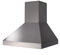 "BlueStar 42"" Stainless Steel Pyramid Style Wall Hood"