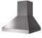 "BlueStar 48"" Stainless Steel Pyramid Style Wall Hood"