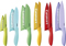 Cuisinart Advantage 12-Piece Ceramic Coated Color Knife Set With Blade Guards