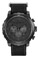 Citizen Eco-Drive Military Chronograph Black Stainless Steel Mens Watch