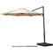 Hanover 11' Tan Cantilever Umbrella