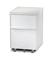 BDI Cascadia 6207 White Mobile File Cabinet