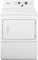 "Whirlpool 27"" White Non-Metered Commercial Electric Dryer"