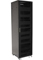 "Sanus 85"" Tall Black AV Home Theater Equipment Rack"