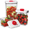 Cuisinart Red Vacuum Seal Containers