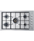 "Fisher & Paykel 36"" Stainless Steel Gas Cooktop"
