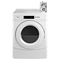 Whirlpool 6.7 Cu. Ft. Commercial White Gas Dryer