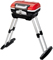 Cuisinart Red Petite Gourmet Portable Propane Gas Grill With VersaStand