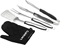 Cuisinart Black 3 Piece Grilling Tool Set With Grill Glove