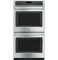 "GE Cafe 27"" Stainless Steel Convection Double Wall Oven"