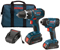 Bosch Tools 18V Lithium-Ion 2-Tool Combo Kit With Drill/Driver And Impact Driver