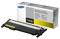 Samsung 1000-Page Yellow Toner Cartridge