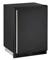 "U-Line 24"" Black Combo 1000 Series Compact Refrigerator"
