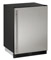 "U-Line 24"" Stainless Steel Combo 1000 Series Compact Refrigerator"