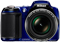 Nikon COOLPIX L810 Blue 16.1 Megapixel Digital Camera