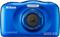 Nikon Coolpix W100 Blue 13.2 Megapixel Waterproof Digital Camera