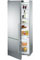 Liebherr Counter Depth Stainless Steel Bottom Freezer Refrigerator