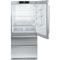 "Liebherr Counter Depth Stainless Steel 36"" Bottom-Freezer Refrigerator"