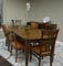 Canadel Custom Dining Collections Dining Room Set Cognac Washed
