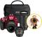Nikon D3400 Red Digital SLR Camera Triple Lens Kit