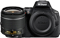 Nikon D5600 Black Digital SLR Camera 18-55mm VR Lens Kit