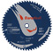 "Bosch Tools 10"" 60 - Tooth Daredevil Table And Miter Saw Blade Fine Finish"