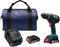 "Bosch Tools 18V Compact Tough 1/2"" Drill/Driver Kit"